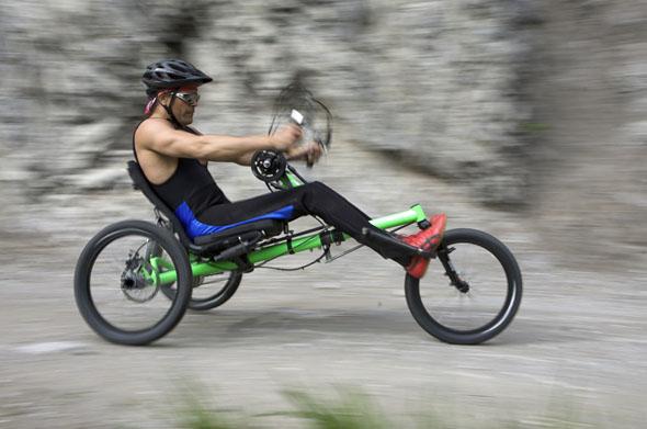 tricikel na ročni pogon