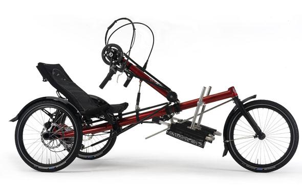 kolo na ročni pogon - tricikl