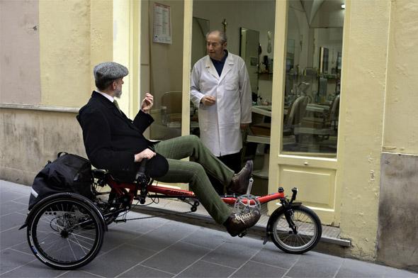 Hase Lepus Comfort - trikolo za starejše