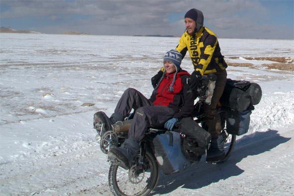 s kolesom v dvoje po svetu