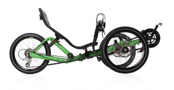 Azub T-tris ležeč tricikel