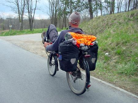Robert na kolesu