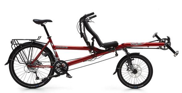 tandem Hase Pino - kolesarjenje v dvoje