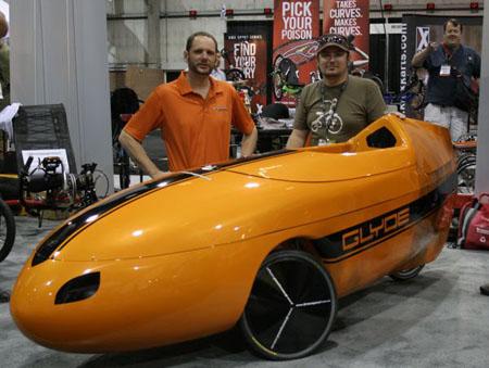 Greenspeed Glyde velomobil (bentrideronline.com)