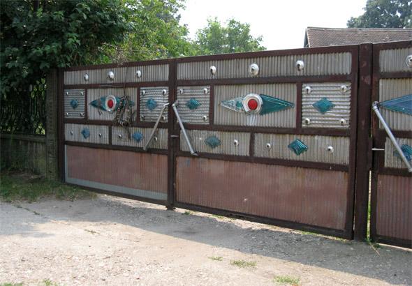 primer tipične ograje