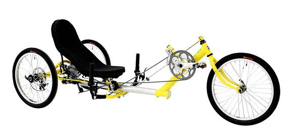 dirkalni delta tricikel Trizard