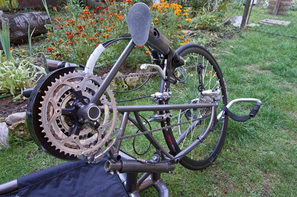 prednji del ročnega kolesa Vipera HandBike