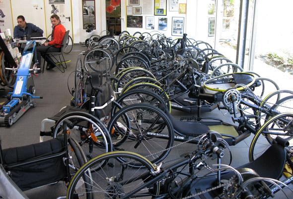 Schmicking ročna kolesa