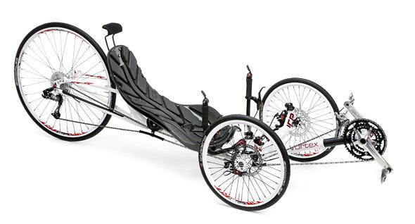 dirkalni tricikel ICE Vortex - cestni dirkalnik
