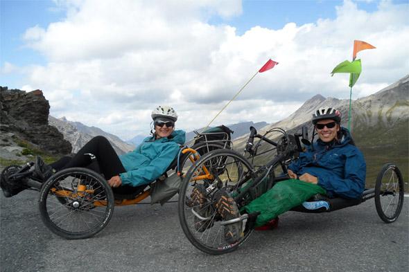 Nat in Cecile na Pirenejih