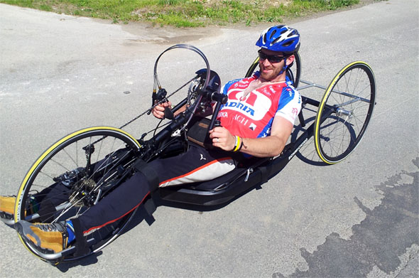 Gal Jakič čez Slovenijo s kolesom