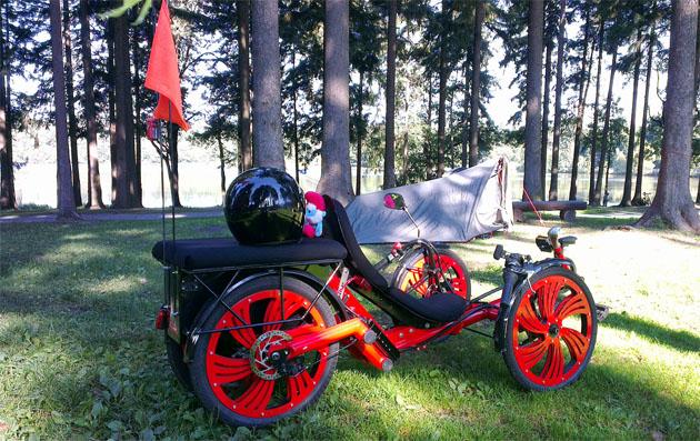 tricikel z elektromotorjem