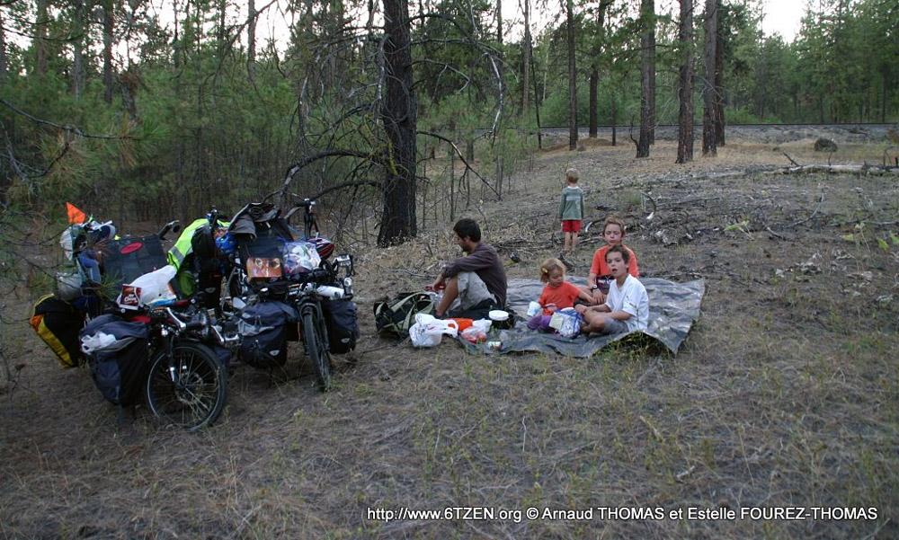 kolesarjenje z družino